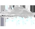 Couvert, pluies mod�r�es ou fortes