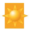 Sonne / klarer Himmel